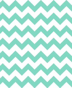 1 Yard Chevron Jersey Knit Fabric in Mint and by YouNeekFabrique