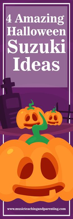 COOL Suzuki violin ideas for Halloween and lots of resources available for Suzuki violin teachers and Suzuki violin parents on this site. Halloween Games For Kids, Halloween Cards, Class Activities, Classroom Activities, Violin Online, Teacher Page, School Programs, Picture Cards
