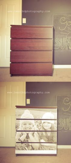 furniture photo makeover (what to do with so many ikea malm pieces???)