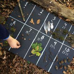 Antalsuppfattning #reggioemilia Motor Skills Activities, Infant Activities, Math Activities, Maths Eyfs, Numeracy, Outdoor School, Outdoor Classroom, Outdoor Learning, Home Learning