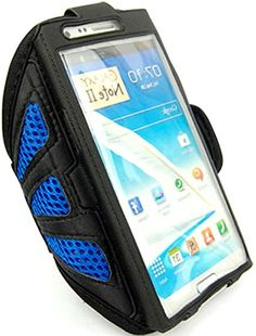 "myLife Jewel Blue + Ebony Black with Flex Mesh {Rain Resistant Velcro Secure Running Armband} Dual-Fit Jogging Arm Strap Holder for Samsung Galaxy Note 2 ""All Ports Accessible"" myLife Brand Products http://www.amazon.com/dp/B00TGDIDBU/ref=cm_sw_r_pi_dp_lJ1avb12J4SG6"