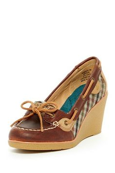 Love these!!! Great for this short girl who is always looking for a boost in height! Goldfish Wedge Slip-On by Sperry Top-Sider on @HauteLook