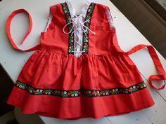 Vintage Swedish 60s/70s dress / Dirndl baby dress. $15.00, via Etsy.