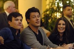 """""""I'll never forget all the laughs we shared or the faces we made after awkward interview questions. Love and miss you, buddy"""" - Chris Colfer on Cory Monteith"""
