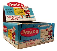 Amico Christmas Lamps Box by Neato Coolville, via Flickr