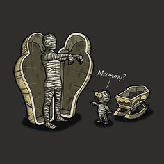 Illustrations by Letter_Q Mummy