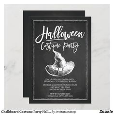 Halloween Logo, Modern Halloween, Adult Halloween Party, Halloween Costume Contest, Halloween Cards, Halloween Chalkboard, Halloween 2016, Halloween Ideas, Halloween Costume Party Invitations