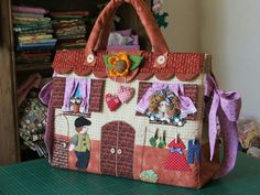 Cottage purse