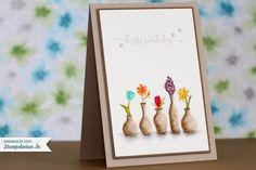 birthday card - Vivid Vases