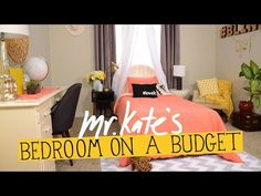 Bedroom on a Budget! | DIY Home Decor | Mr Kate - YouTube