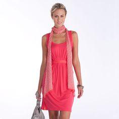 Lolë Berrybud Dress. I love the feminine gathering.