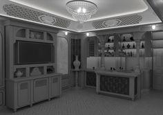 Wizualizacja 4. projektu jadalni i baru