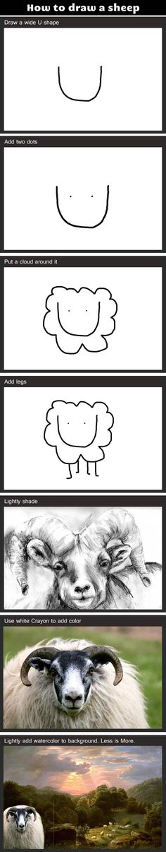 Pretty much xD Sums up internet drawing tutorials for me.