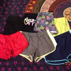 Bundle of 7 athletic shorts Bundle of 7 athletic shorts. 3 pairs are SO brand, 2 are OP, 1 is Aeropostale, and 1 is Jockey. All in good condition. SO Shorts