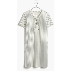 5409cd22ea MADEWELL Harbor Lace-Up Shift Dress (415 ILS) ❤ liked on Polyvore featuring