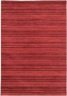 Red Rug With Stripes - BR3