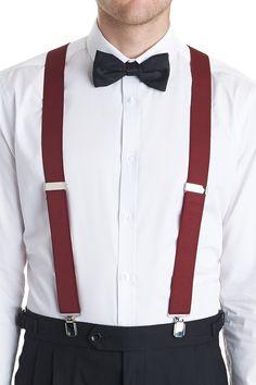 red braces suit - Google Search