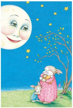 """Order The Bedtime Book by Mary Engelbreit from your favorite retailer, and we'll mail you this 5 x 7"""" print signed by Mary. Click the images for more details on our website."""