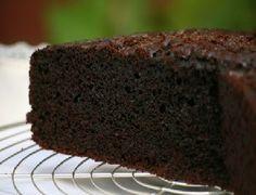 Receta Torta humeda de chocolate - Cristina de Gamarra para Reinitartas - Barcelona - España