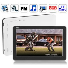[USD29.36] [EUR26.64] [GBP20.84] 4.3 inch Touch Screen 8GB MP5 Player, Support FM Radio, E-Book, Games, TV Out (Black)