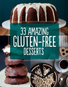 33 Amazing Gluten-FreeDesserts @fariyavasquez