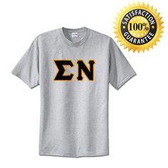 Sigma Nu Standards T-Shirt - $14.99 Gildan 5000 - TWILL