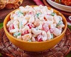 Sweet+&+Creamy+Macaroni+Salad