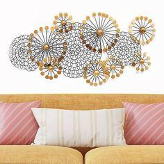 Stratton Home Decor Spiral Circles Metal Wall Decor