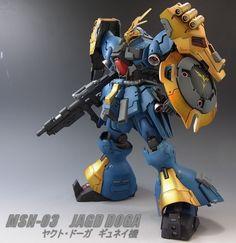 HGUC 1/144 Jagd Doga custom build - Gundam Kits Collection News and Reviews