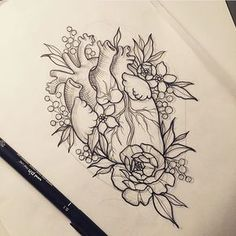 @which_ink_i_like Lovely sketch by ...Instagram photo | Websta (Webstagram)