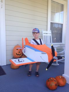 Dusty Crophopper Halloween costume from the movie Planes!