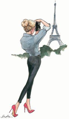 Cool Fashion Sketches - Nápady na kresby - Art Art And Illustration, Character Illustration, Drawing Sketches, Art Drawings, Pencil Drawings, Drawing Art, Art Du Croquis, Arte Fashion, Fashion Fashion