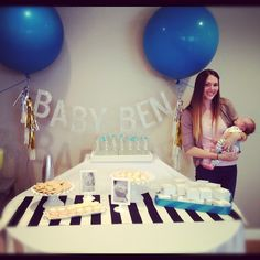 darling baby shower