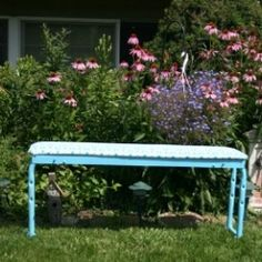 Garden Bench from Weight Bench | Looksi Square