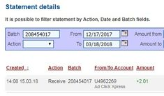 The opportunities with ACX Crypto are real. Two earnings daily DSC and CTP ... CTP can be paid more than once daily! And you can withdraw 100% of Daily Earnings - Paid Within 24 Hours, whenever you have accumulated $2 in your Ad Pack account. Here is my Withdrawal Proof from AdClickXpress. I get paid daily and I can withdraw daily. Online income is possible with ACX, who is definitely paying - no scam here. It Works Every Time!