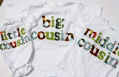 These would be cute to get photos with G and his little cousins!