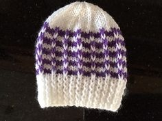 Ravelry: Duet Baby Hat pattern by marianna mel Baby Hat Patterns, Knitting Patterns Free, Free Knitting, Free Pattern, Baby Hats Knitting, Knit Hats, Beanies, Ravelry, Headbands