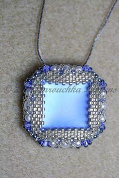 Tutorial for Pendant Square of Tranquility от JuJuJewelleryUK