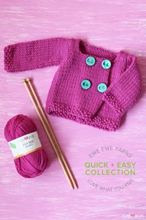 Ravelry: Breezy Baby Cardi pattern by Heather Walpole Free Childrens Knitting Patterns, Easy Scarf Knitting Patterns, Baby Sweater Patterns, Baby Sweater Knitting Pattern, Knitting For Kids, Baby Knitting, Baby Patterns, Baby Pullover Muster, Ravelry