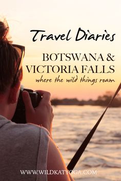 Itinerary   where to stay on a 10 day trip through Botswana and Victoria Falls safari including Okavango Delta, Chobe National Park and Victoria Falls. Plus Africa Yoga Retreat Ideas for a private yoga safari retreat. Chobe National Park, National Parks, Travel Guides, Travel Tips, Places To Travel, Travel Destinations, Okavango Delta, Victoria Falls, Online Travel