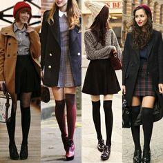 Chaussettes longue au top de la mode cet hiver