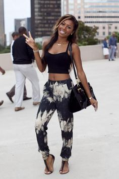 Summer Chic Spotted @ Essence Magazine Street Style Pages