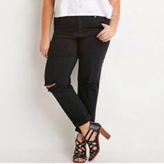 Jeans never worn Forever 21 Jeans Ankle & Cropped