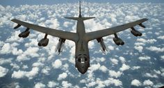 B-52 in flight USAF