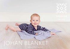 Johan Baby Blanket in MillaMia Naturally Soft Merino