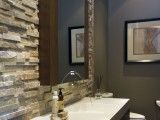 Used this tile in a bathroom when I lived in Colorado.  Love it!