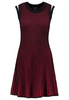 Topshop Gebreide jurk red
