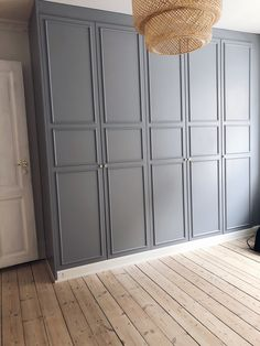 Ikea Wardrobe, Built In Wardrobe, Ikea Pax Closet, Master Bedroom Closet, Bedroom Wardrobe, Ikea Pax Hack, Modern Scandinavian Interior, Sconces Living Room, Sliding Wardrobe Doors