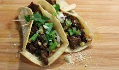 Antelope black bean and corn tacos.. hhhmmm