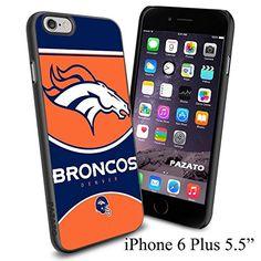 "NFL DENVER BRONCOS , Cool iPhone 6 Plus (6+ , 5.5"") Smartphone Case Cover Collector iphone TPU Rubber Case Black Phoneaholic http://www.amazon.com/dp/B00VXCQ8Z0/ref=cm_sw_r_pi_dp_m.Cnvb1615862"